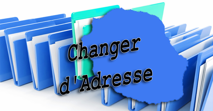CHANGEMENT D'ADRESSE PARTICULIER