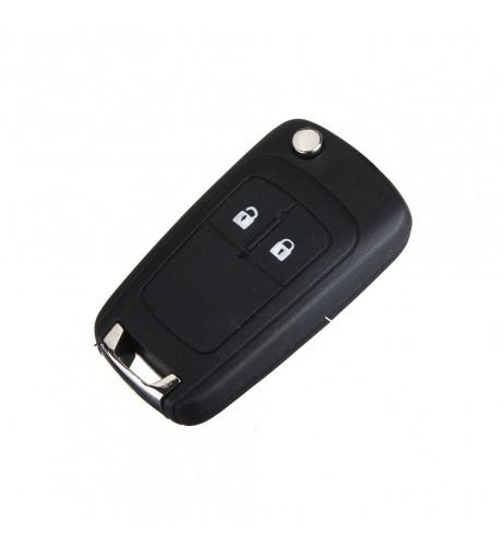 Telecommande pliable avec 2 boutons pour corsa d corsa e et meriva 95507074 pcf7941 id46 sans ebauche originale valeo 13271922